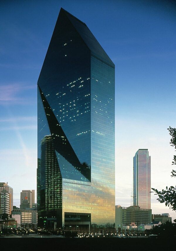 Fountain Place Dallas | Security Film Installation | Epic Solar Control | Dallas TX