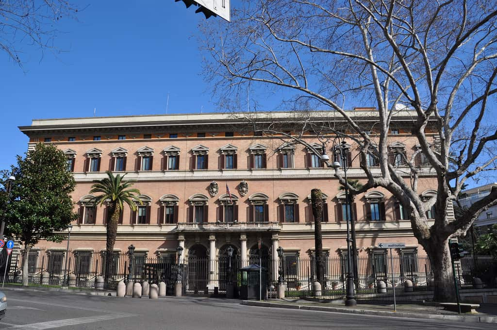 US Embassy Rome Italy |Security Film Installation | Epic Solar Control