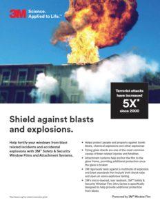 3M Security Window Films | Bomb Blast Mitigation | Epic Solar Control