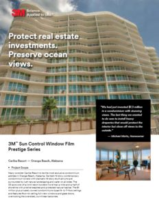 Commercial Window Tinting | Caribe Resort Case Study | Epic Solar Control