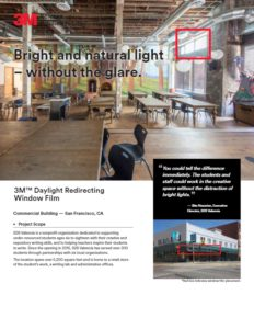 Daylight Redirecting Films | Case Study | Commercial Window Films | Epic Solar Control