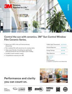 3M Sun Control Ceramic Series   Window Film   Epic Solar Control