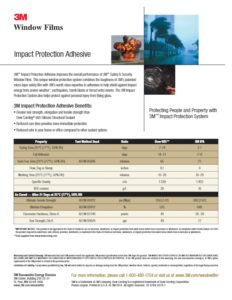 Impact Protection | Security Window Film | Epic Solar Control