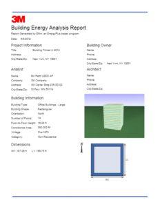 Energy Consultants | Building Energy Report | Window Film | Epic Solar Control