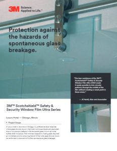 Security Window Film | Spontaneous Glass Breakage | Epic Solar Control