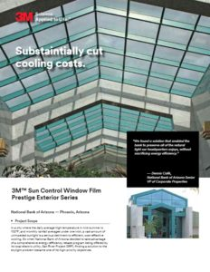 3M Prestige Exterior Series | Commercial Window Films | Epic Solar Control