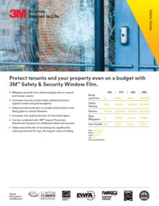 3M Safety Series | Commercial Security Window Film | Epic Solar Control