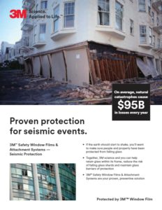 Safety & Security Window Films | Seismic Protection | Epic Solar Control