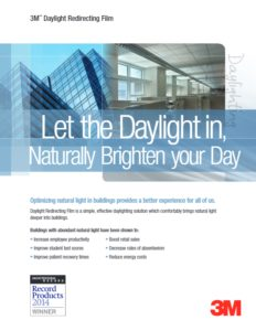 Daylight Redirecting Film | Commercial Window Films | Epic Solar Control